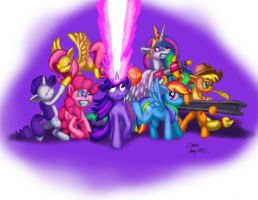 Balls and Beams - Puns Everywhere! by Cazra