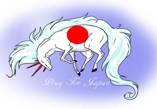 Pray For Japan by areanome