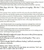 Weasley Twin Quotes 2 by elfgirlunltd