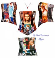 David Bowie Corset - dif views by ThreeRingCinema