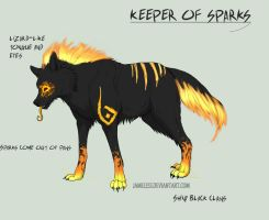 Keeper of Sparks Adoptable by Fells-Adopts