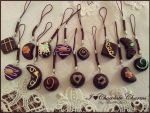 I :Heart: Chocolate Charms (FOR SALE) by Blue-Sonikku