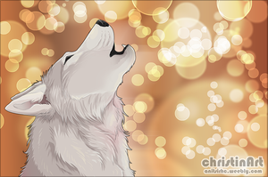 howling wolf by Chrizka