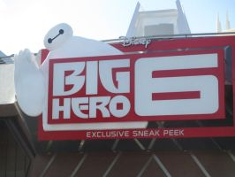 Big Hero 6 Logo by montey4
