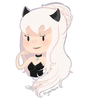 [COMM] Bust for Nyansuu by Caustic-Creations