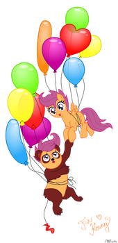 Request: Balloons by Puu-aj-chan