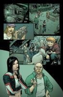 Hack/Slash: Son of Samhain coloring samples 02 by kmichaelrussell
