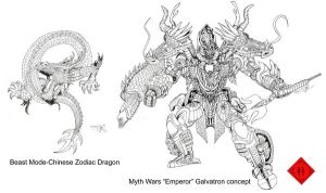Myth Wars Galvatron concept by AcidWing