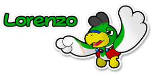 Eniotna's Paper Contest Entry: Lorenzo by The-PaperNES-Guy