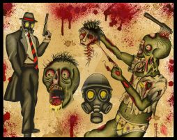 Dead...ALIVE Flash sheet 3 by NewColour