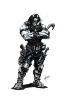 Lobo the Bounty Hunter quick colors by VASS-comics