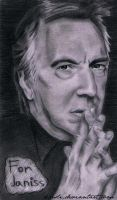 Alan Rickman by Kresli
