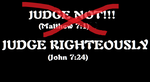 Judge Righteously by SpudYeisleyCreations