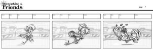 Doesaphine and Friends: Storyboards by AronDraws
