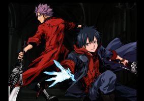 Gray and Natsu: Devil May Cry by TengenTopper994
