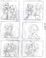 Mini comic ZeLink chibi :3 by Dialirvi