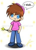 Anime Timmy Turner by Yei-Pi