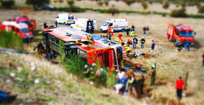 Tragedy Tilt Shift by kalnobe