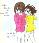 Holding Hands::Cover by Rishi-heart-naruto