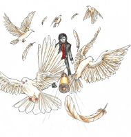Like A Bullet Through A Flock of Doves by Ine-Z