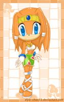 Tikal the echidna by Elya--chan12