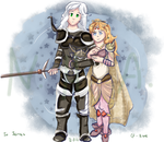 :GA: A Healer and Her Dark Knight :Pt.I: by nintendohime