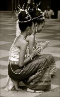 traditional dance by houweling