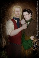 Thorki All Hallow's Eve by TreeMuse