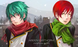 MM - Christmas Brothers by yami-izumi