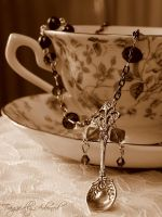 Victorian Spoon Necklace by Nya99