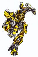 Bumblebee Pencil by Inkletter