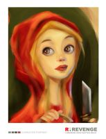 Red Riding Hood Portrait by prmn