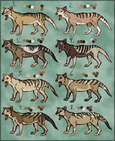 Thylacines (closed) by Pred-Adopts