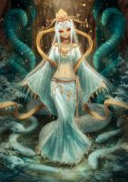 Lady White Snake by Meoon