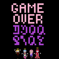 GAME OVER by fedorafledgling