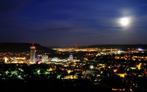 Jena at Night 2 by hquer