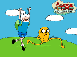 Adventure Time by JohnnyFive81