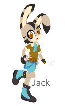 Jack the rabbee by SuperRosey16