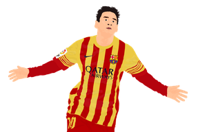 Messi-2014-background by JeanFox