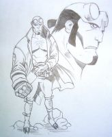 Hellboy by LucasMonte