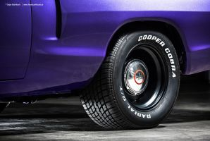 Plum Crazy 1970 Dodge Coronet - Shot 10 by AmericanMuscle