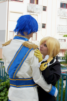 Kaito and Len: Come capture me by SweetCandyCupkake