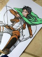 Levi Ackerman by 22PandaBean-89