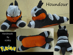 Houndour Plush by K3RI1