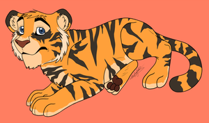 Tiger WIP by squishy-paws