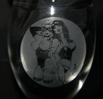 glass etching3 by amorimcomicart