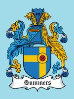 Super Clan Coat of Arms: Summers by mattcantdraw