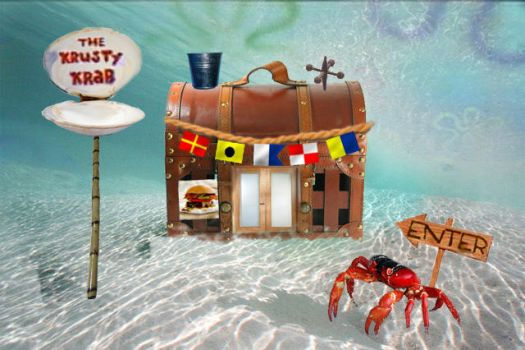 The Krusty Krab by cococheese