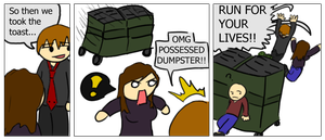 Demon Dumpster by MMO-Rehab