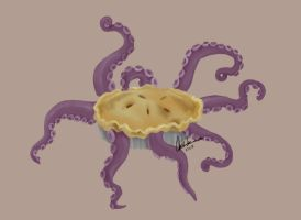 OCTO PIE by FluffyTurtle